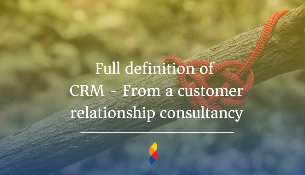 Understanding customer relationship management