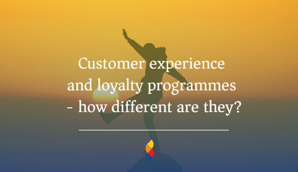 Differences between customer loyalty and customer experience