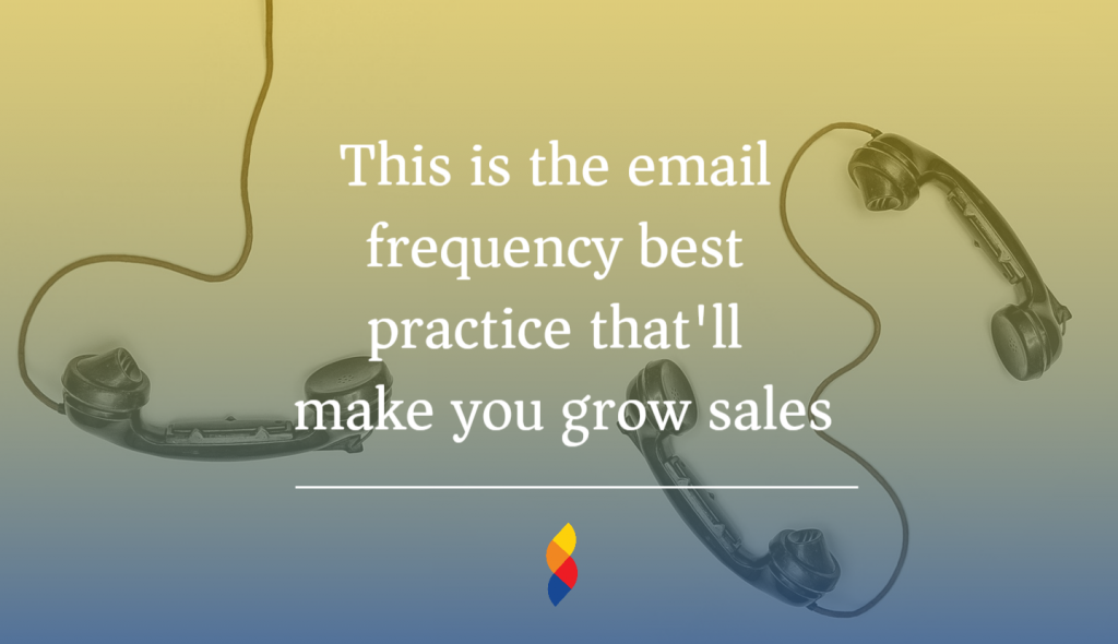 balancing the right email frequency