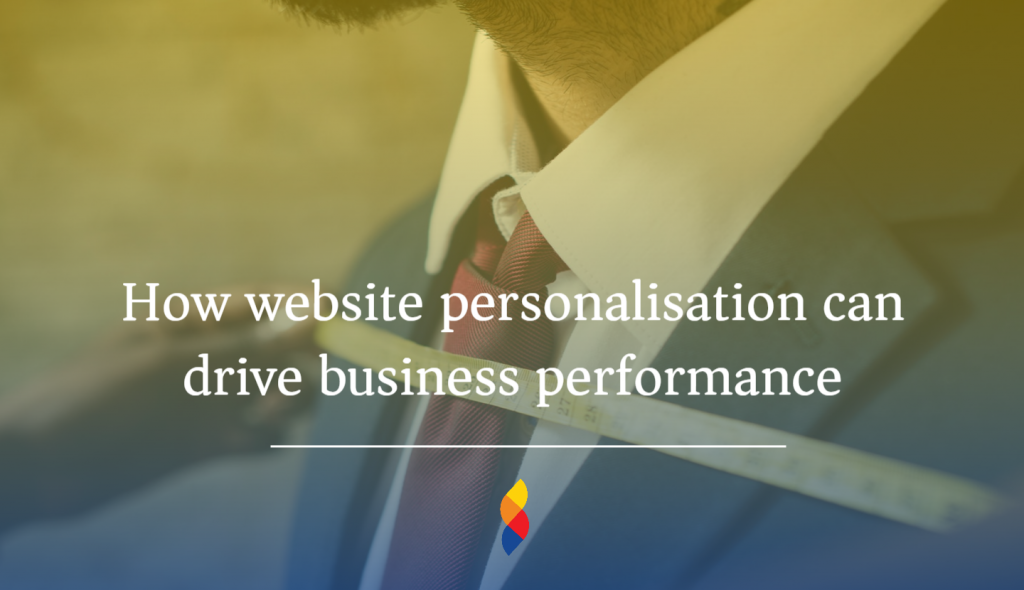 Why personalisation can drive user experience