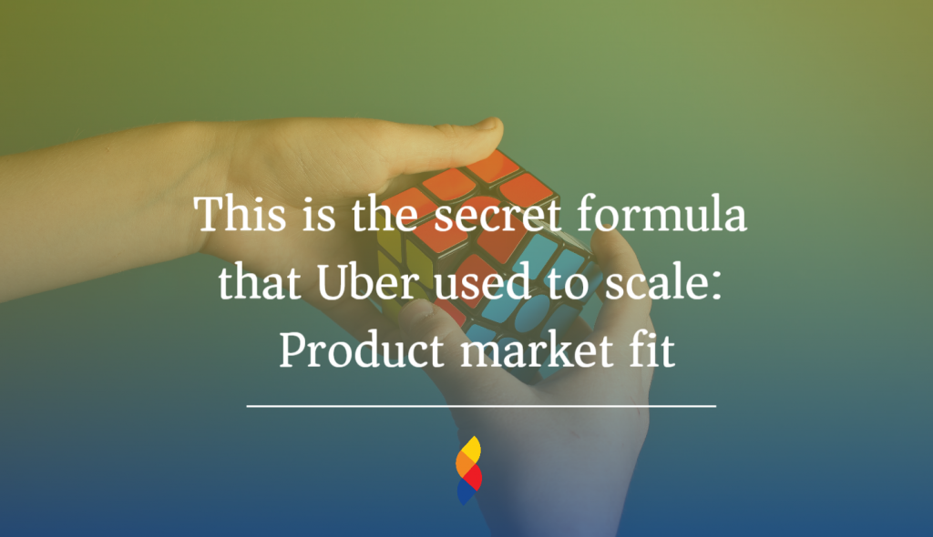 Product market fit to scale business