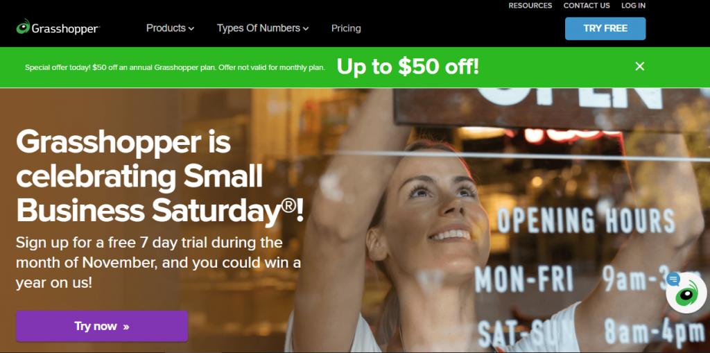 B2b Marketing funnel example by grasshopper