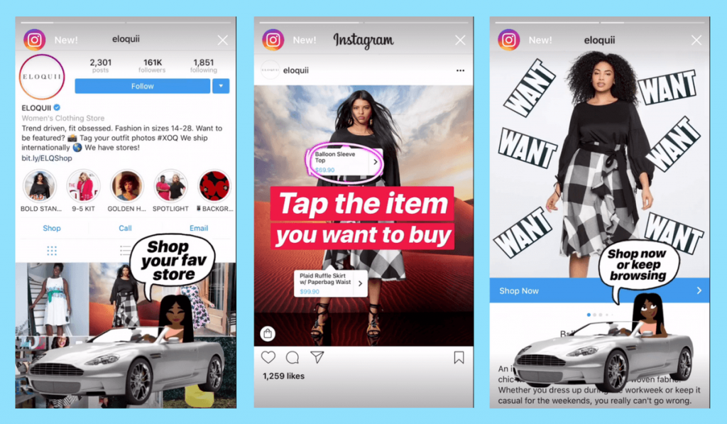 Ecommerce marketing tip: Use shoppable posts on instagram