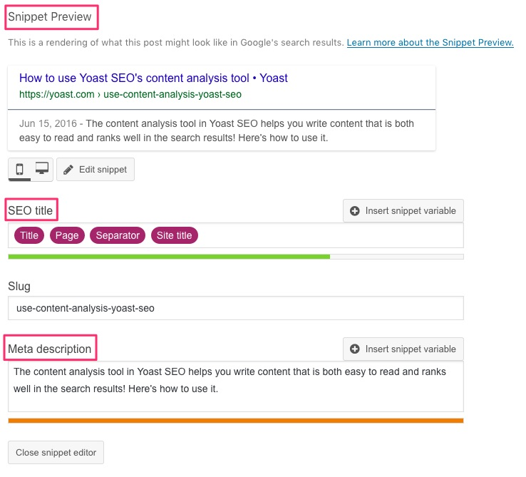 One of the best ecommerce marketing tools to use is Yoast for SEO