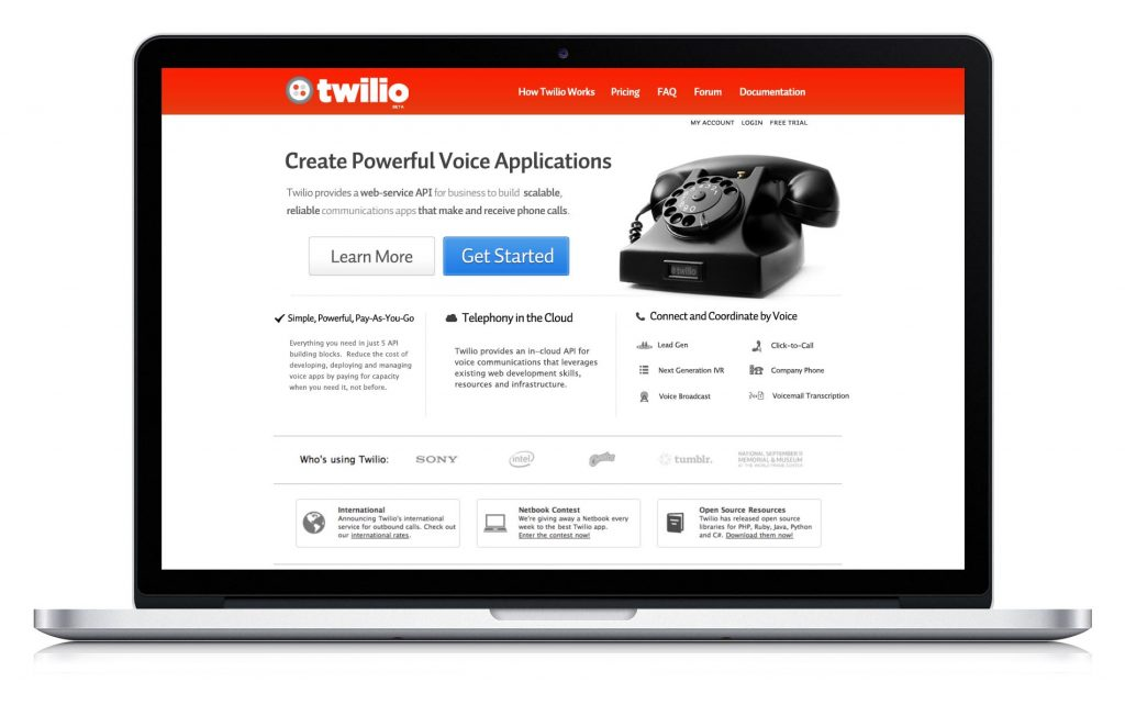 For a unique marketing funnel examples check out how Twilio built their pipeline