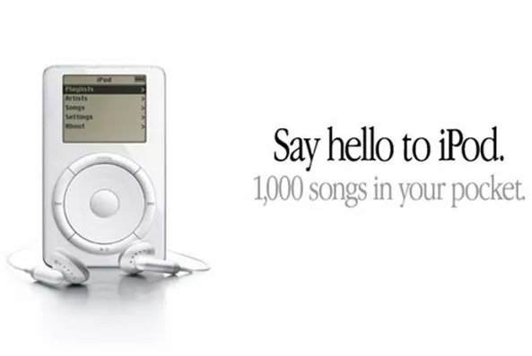 IPod Apple used a unique message for their top of the marketing funnel stages to generate interest
